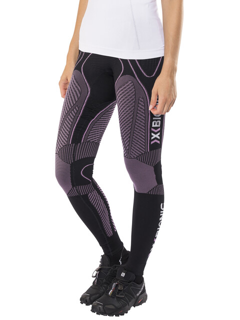 X-Bionic W's The Trick Running Pants Long Black/Pink